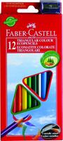 Купить Faber-Castell Набор цветных карандашей Eco с точилкой 12 шт, Карандаши