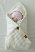 Купить Loom Конверт-плед для новорожденного Universal цвет белый 85 х 85 см, Аксессуары для колясок