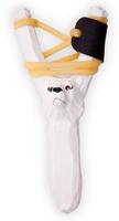 Купить Рогатка офисная Woodsurf Белый медведь , цвет: белый, Рогатки
