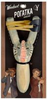 Купить Рогатка офисная Woodsurf Слон , цвет: серый, Рогатки