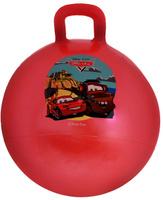 Купить Играем вместе Мяч-прыгунок Тачки с ручкой цвет красный 55 см, Shantou City Daxiang Plastic Toy Products Co., Ltd, Батуты, попрыгуны