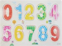 Купить Фабрика Фантазий Пазл для малышей Цифры от 0 до 9, Фабрика Фантазий Раннее развитие, Обучение и развитие