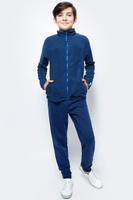 Купить Толстовка для мальчика Cherubino, цвет: темно-синий. CWJ 61502. Размер 128, Одежда для мальчиков