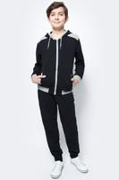 Купить Спортивный костюм для мальчика Vitacci, цвет: черный. 1173036-03. Размер 134, Одежда для мальчиков