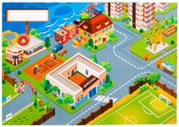 Купить Лас Играс Обучающая игра Город фантазии, Обучение и развитие