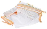 Купить Polini Комплект в кроватку Джунгли цвет белый бежевый 7 предметов, Постельное белье