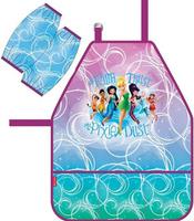 Купить Disney Фартук детский Феи Цветочная вечеринка с нарукавниками, Аксессуары для труда