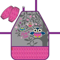 Купить Erich Krause Фартук детский Lucky Owl с нарукавниками, Аксессуары для труда