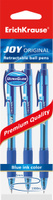 Купить Erich Krause Набор шариковых ручек Ultra Glide Technology Joy Original 3 шт 43356, Ручки