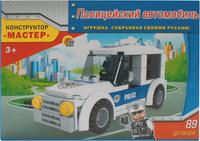 Купить Рыжий Кот Конструктор Полицейский автомобиль, Guangdong Ausini Toys Industry CO., Ltd (Гуандонг Аусини Тойз Индастри Ko Лтд), Конструкторы