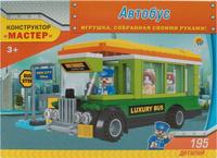 Купить Рыжий Кот Конструктор Автобус, Guangdong Ausini Toys Industry CO., Ltd (Гуандонг Аусини Тойз Индастри Ko Лтд), Конструкторы