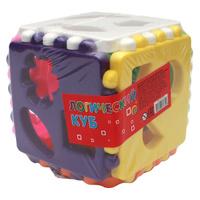 Купить Рыжий Кот Обучающая игра Логический куб для девочек, Обучение и развитие