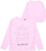 Купить Джемпер для девочки Cherubino, цвет: светло-розовый. CWK 61730 (160). Размер 122, Одежда для девочек