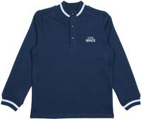 Купить Джемпер для мальчика Cherubino, цвет: темно-синий. CWJ 61720 (163). Размер 128, Одежда для мальчиков