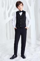 Купить Жилет для мальчика Смена, цвет: черный. 16с240. Размер 116/122, Одежда для мальчиков