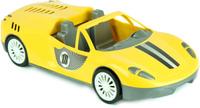 Купить Zebratoys Спортивный Кабриолет цвет желтый, Первые игрушки