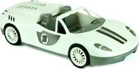 Купить Zebratoys Спортивный Кабриолет цвет белый, Первые игрушки