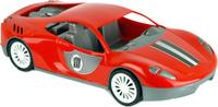 Купить Zebratoys Спортивный автомобиль цвет красный, Первые игрушки