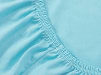 Купить Mirarossi Простыня на резинке Ninna Nanna цвет бирюзовый 60 см х 120 см х 15 см, Постельное белье