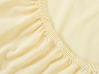 Купить Mirarossi Простыня на резинке Ninna Nanna цвет бежевый 60 см х 120 см х 15 см, Постельное белье