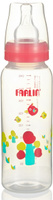 Купить Farlin Бутылочка для кормления со стандартным горлышком, цвет: розовый 240 мл, Farling Industrial Co., Ltd, Бутылочки