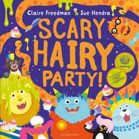 Купить Scary Hairy Party, Зарубежная литература для детей