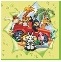 Купить Салфетки Pol-Mak Детский мотив , трехслойные, 33 х 33 см, 20 шт, Сервировка праздничного стола
