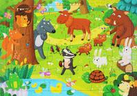 Купить Лесные животные. Пазл, Книжки-мозаики, паззлы