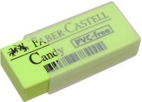 Купить Faber-Castell Ластик Candy цвет желтый 784000, Чертежные принадлежности