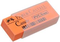 Купить Faber-Castell Ластик Candy цвет оранжевый 784000, Чертежные принадлежности