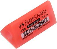 Купить Faber-Castell Ластик-манжетка флуоресцентный цвет красный 185213, Чертежные принадлежности