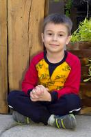 Купить Толстовка для мальчика Let's Go, цвет: желтый. 6218. Размер 122, Одежда для мальчиков