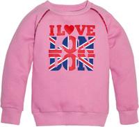 Купить Толстовка для девочки Let's Go, цвет: розовый. 6140. Размер 122, Одежда для девочек