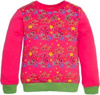 Купить Толстовка для девочки Let's Go, цвет: розовый. 6137. Размер 122, Одежда для девочек