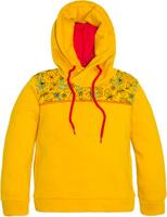 Купить Толстовка для девочки Let's Go, цвет: желтый. 6136. Размер 122, Одежда для девочек