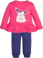 Купить Комплект одежды для девочки Let's Go, цвет: фиолетовый. 11116. Размер 74, Одежда для новорожденных
