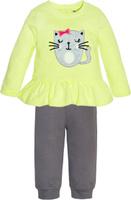 Купить Комплект одежды для девочки Let's Go, цвет: светло-зеленый. 11116. Размер 74, Одежда для новорожденных