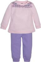 Купить Комплект одежды для девочки Let's Go, цвет: сиреневый. 11115. Размер 74, Одежда для новорожденных