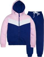 Купить Спортивный костюм для девочки Let's Go, цвет: фиолетовый. 11114. Размер 134, Одежда для девочек