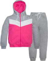 Купить Спортивный костюм для девочки Let's Go, цвет: розовый. 11114. Размер 146, Одежда для девочек