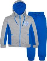 Купить Спортивный костюм для девочки Let's Go, цвет: синий. 11110. Размер 104, Одежда для девочек