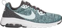Купить Кроссовки для девочки Nike Air Max Motion LW SE (GS), цвет: черный, зеленый. 917670-001. Размер 3, 5 (34, 5), Обувь для девочек