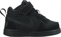 Купить Кеды детские Nike Court Borough Mid (TDV), цвет: черный. 870027-001. Размер 6 (21), Обувь для девочек