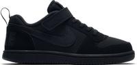 Купить Кеды детские Nike Court Borough Low (PSV), цвет: черный. 870025-001. Размер 13, 5 (30, 5), Обувь для девочек