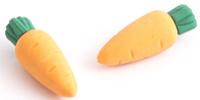 Купить Эврика Набор ластиков Морковки 2 шт, Чертежные принадлежности