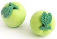 Купить Эврика Набор ластиков Яблоки 2 шт, Чертежные принадлежности