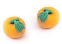Купить Эврика Набор ластиков Мандарин 2 шт, Чертежные принадлежности