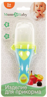 Купить Mum&Baby Ниблер с силиконовой сеточкой 2272516, Посуда для самых маленьких
