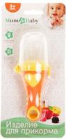 Купить Mum&Baby Ниблер с силиконовой сеточкой 2272518, Посуда для самых маленьких