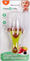 Купить Mum&Baby Ниблер с силиконовой сеточкой 2272519, Посуда для самых маленьких